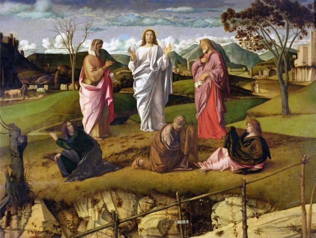 G. Bellini, Trasfigurazione, 1478-1479, Museo nazionale di Capodimonte