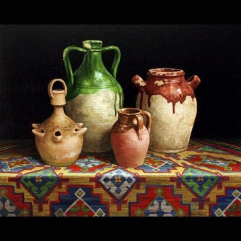 Biagio Magliani, Memoria, olio su tela, 90x130