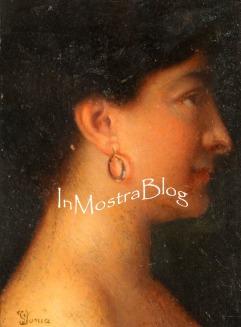 Fanciulla con orecchino, 24x18, 1878 circa