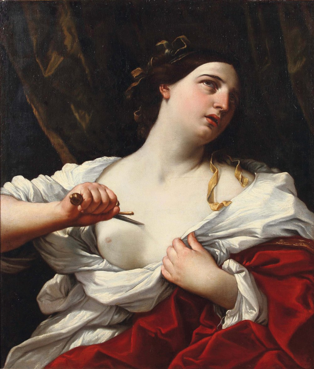 Il suicidio di Lucrezia Romana