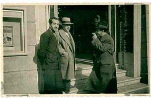 MINO DELLE SITE CON PRAMPOLINI E DIULGHEROFF, negli anni '30.