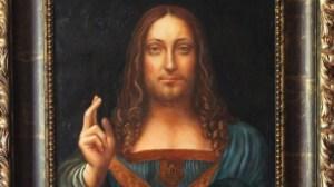 Salvator mundi, attribuito a Leonardo Da Vinci