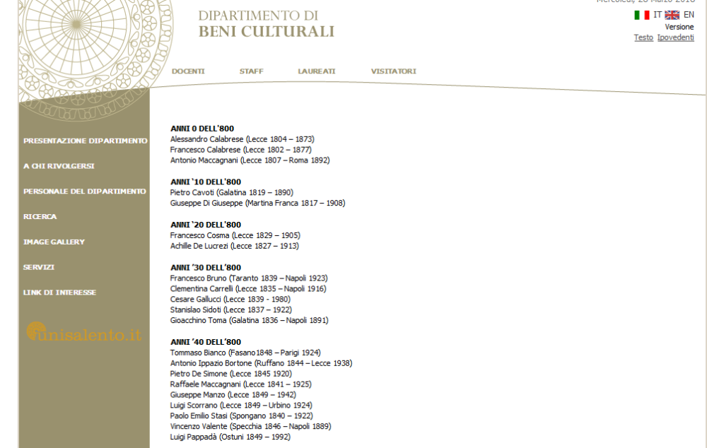 Screenshot-2018-3-28 Dip Beni Culturali Artlante di Terra d'Otranto - Università del Salento