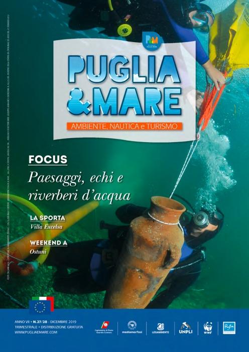 Copertina Puglia&Mare dicembre 2019